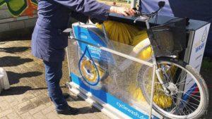 dunyodagi birinchi velosipedlar yuviladigan